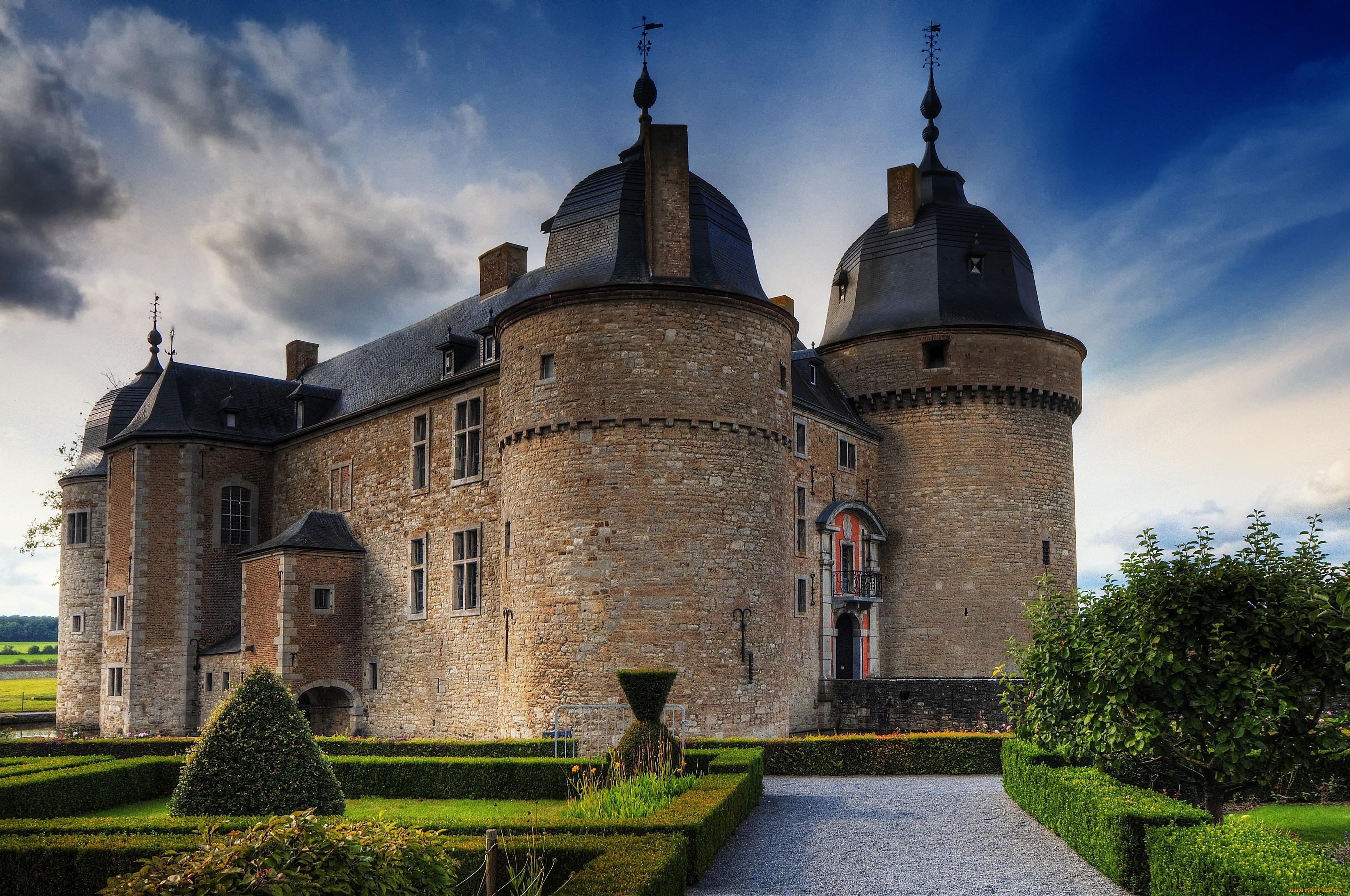 Замки франции обои для рабочего стола